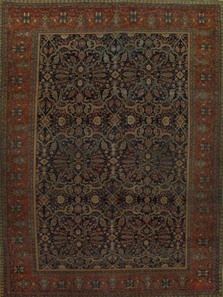 Sarouk Farahan Rug-100803 • Available Sizes: 10.4 x13.10
