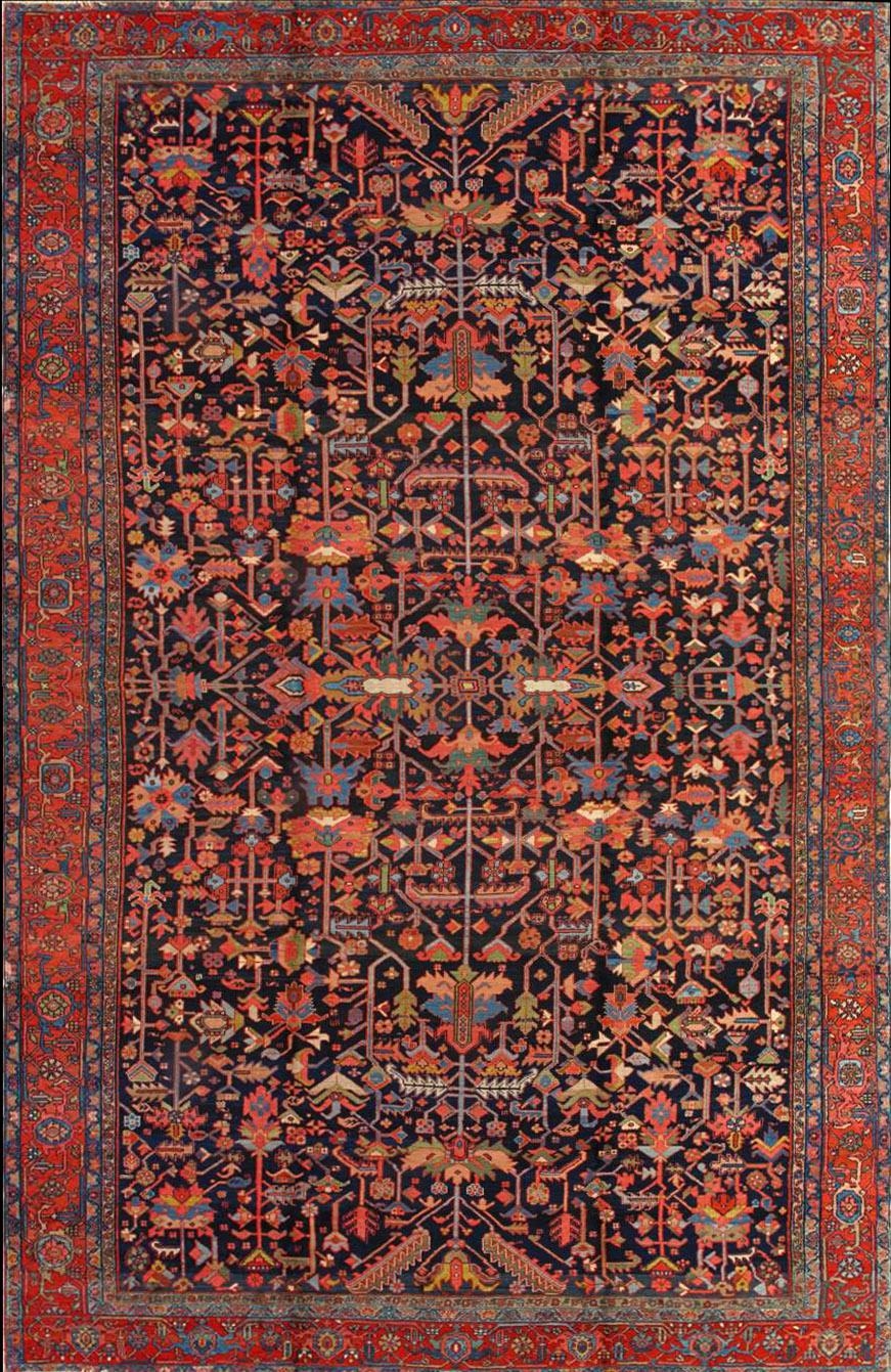 Antique Heriz Rug 200935 Image Carpets