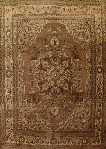 Tabriz Rug-221213 • Available Sizes: 7.4 x 10.4