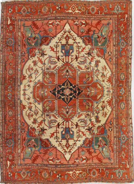 Antique Serapi Rug U2013 200716; Agra_carpet_523209fa271fd