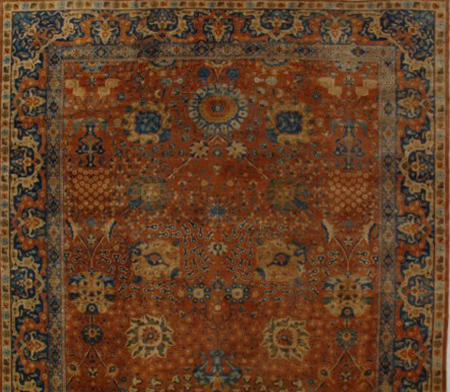 Agra-Carpet- 241018 • Available Sizes: 11.8 x 24.10