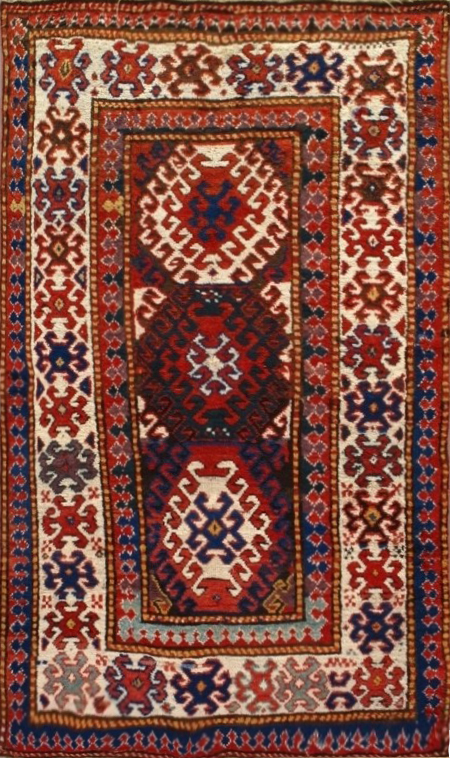 Kazak Rug-980422 • Available Sizes: 3.5 x 5.9