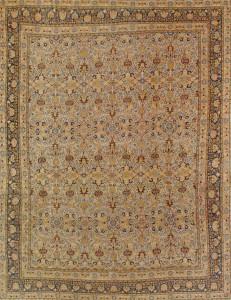 Tabriz Rug-220402 • Available Sizes: 10.9 x 14.9